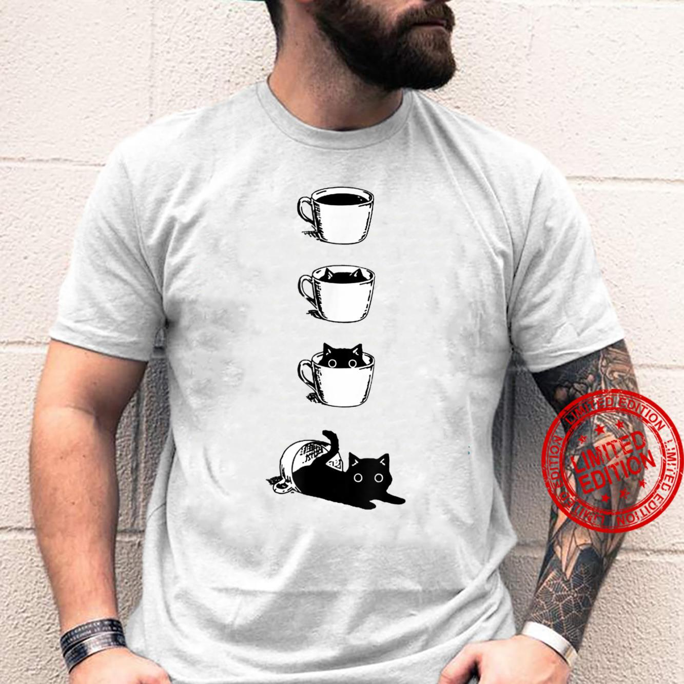 Cat With Cup Shirt