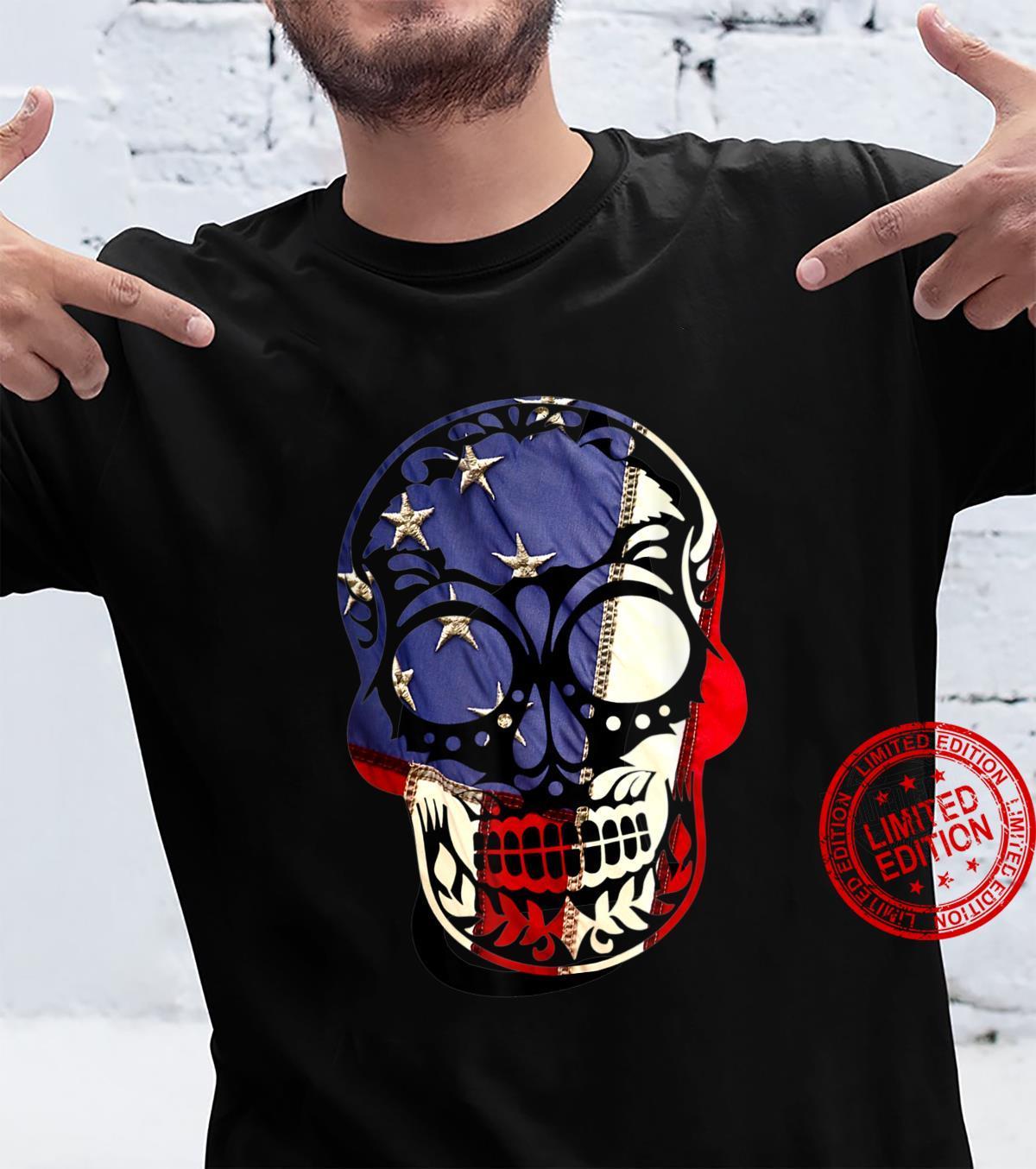 Halloween Costume -American Flag shirt