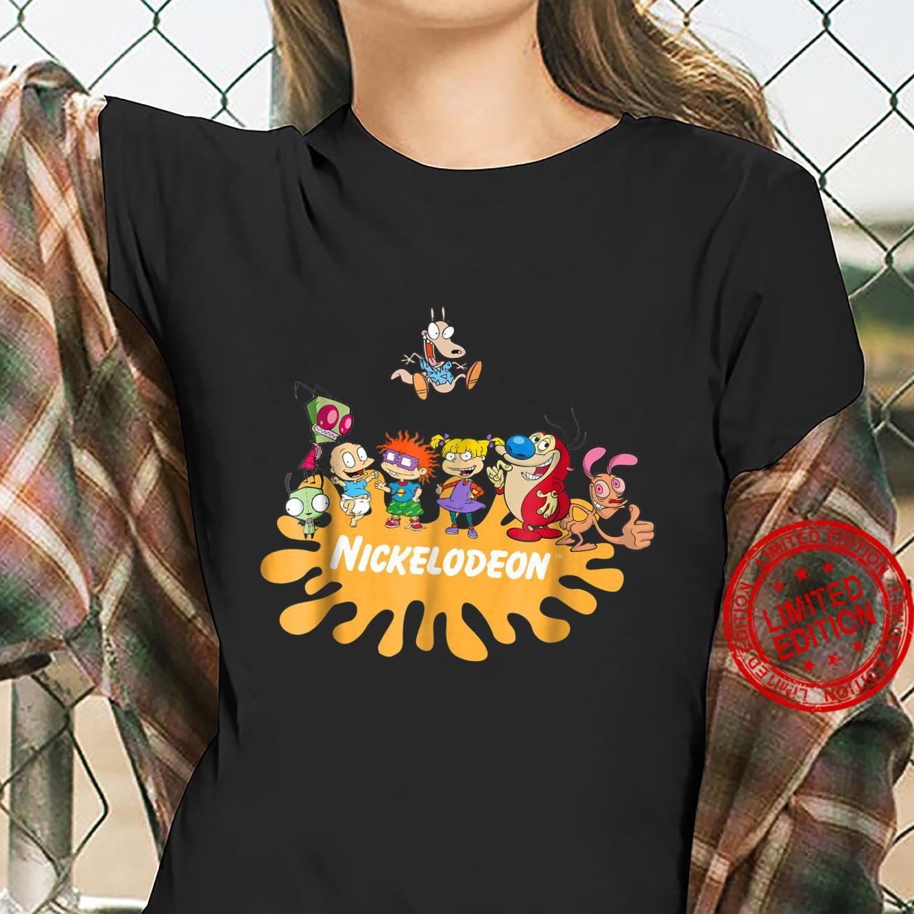 Nick Rewind Rugrats Nick Squad Shirt ladies tee