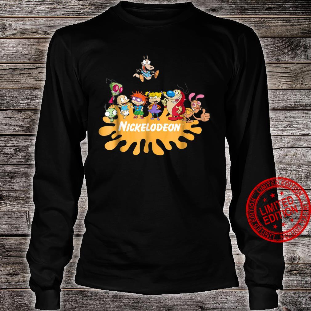 Nick Rewind Rugrats Nick Squad Shirt long sleeved