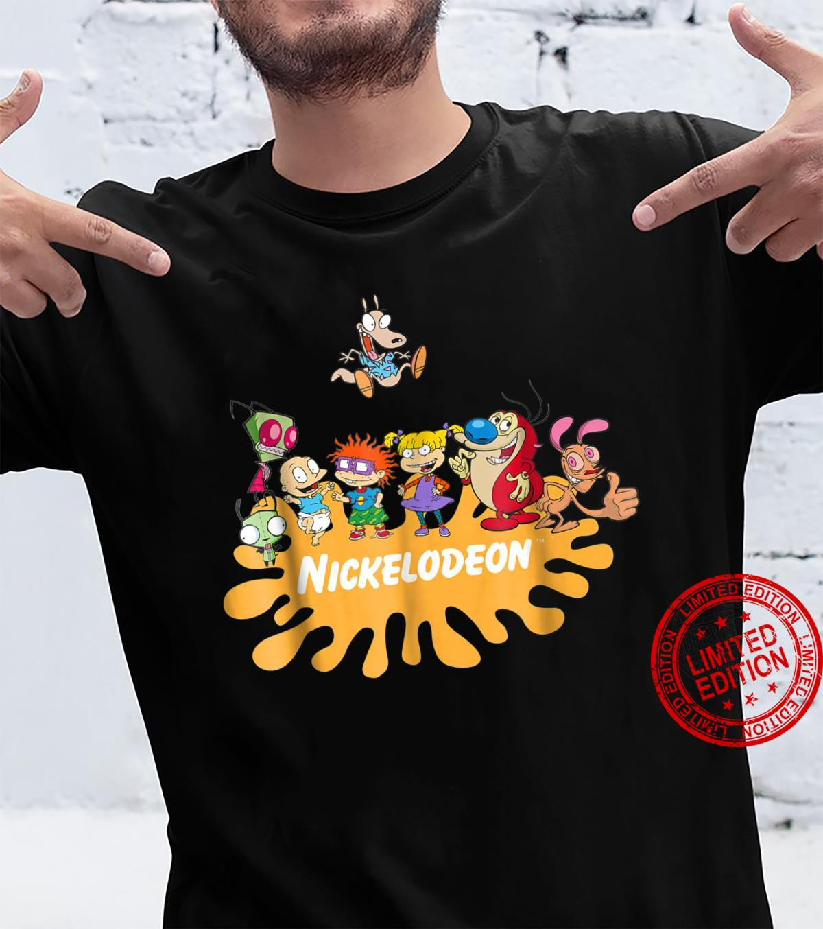 Nick Rewind Rugrats Nick Squad Shirt