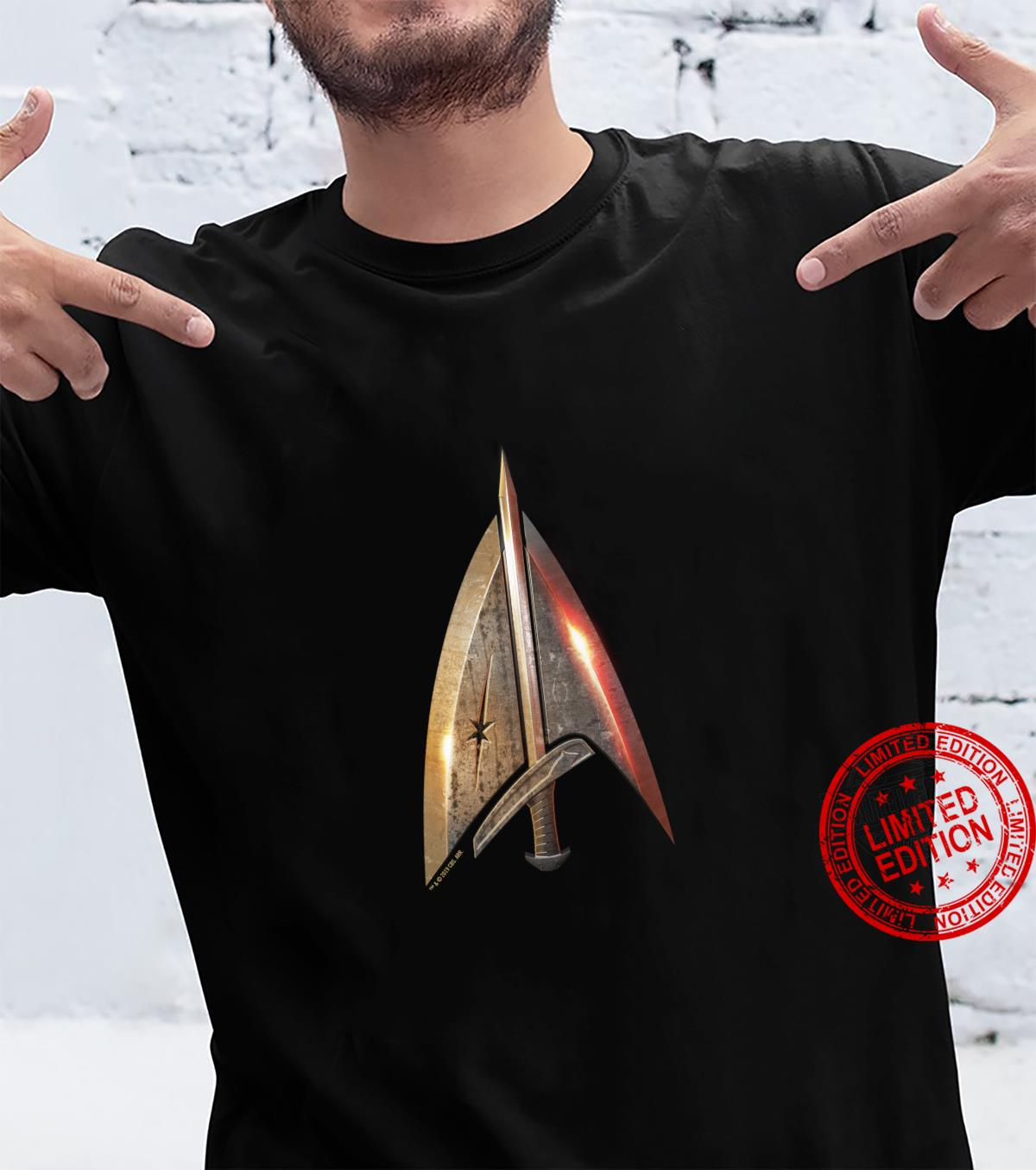 Star Trek The Next Generation Terran Empire Delta Shirt