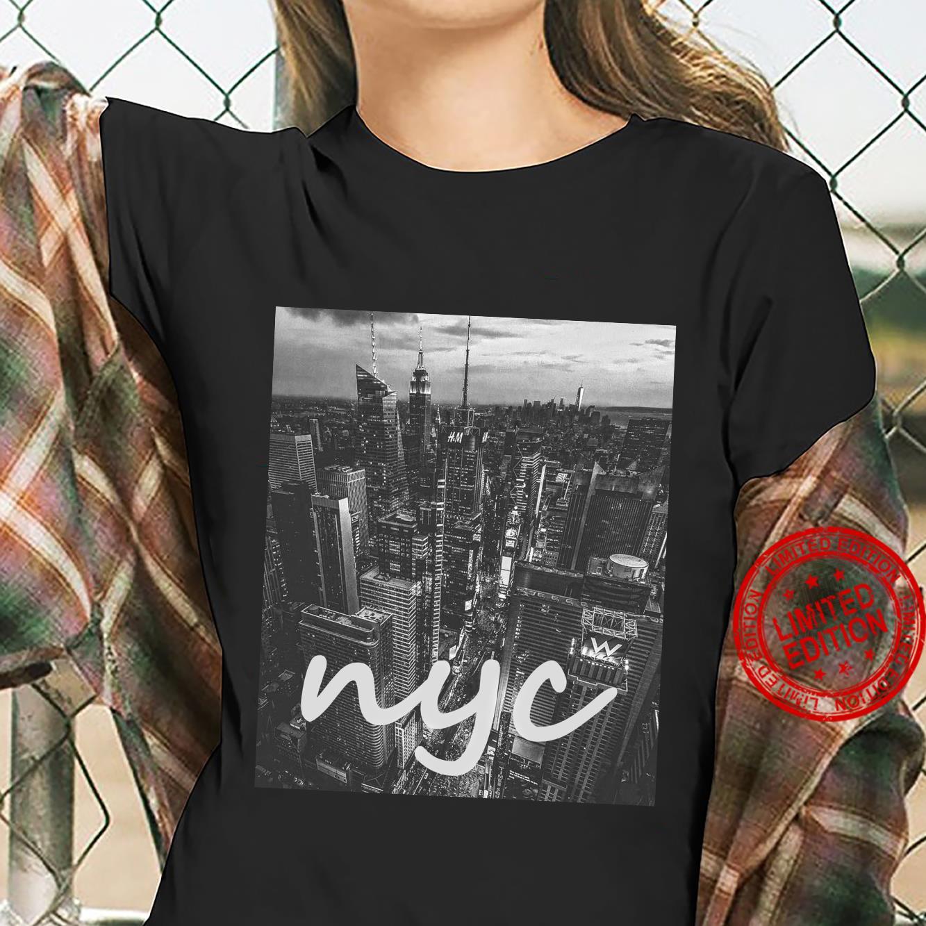Urban NYC, New York City Skyline Shirt ladies tee