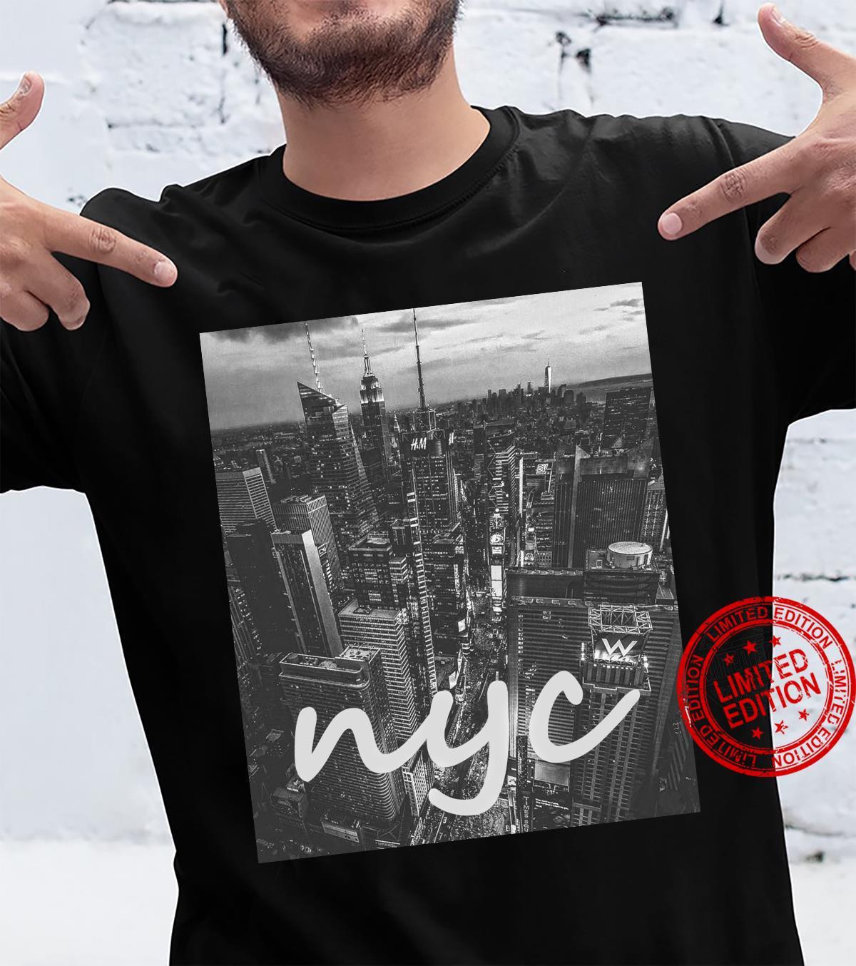 Urban NYC, New York City Skyline Shirt