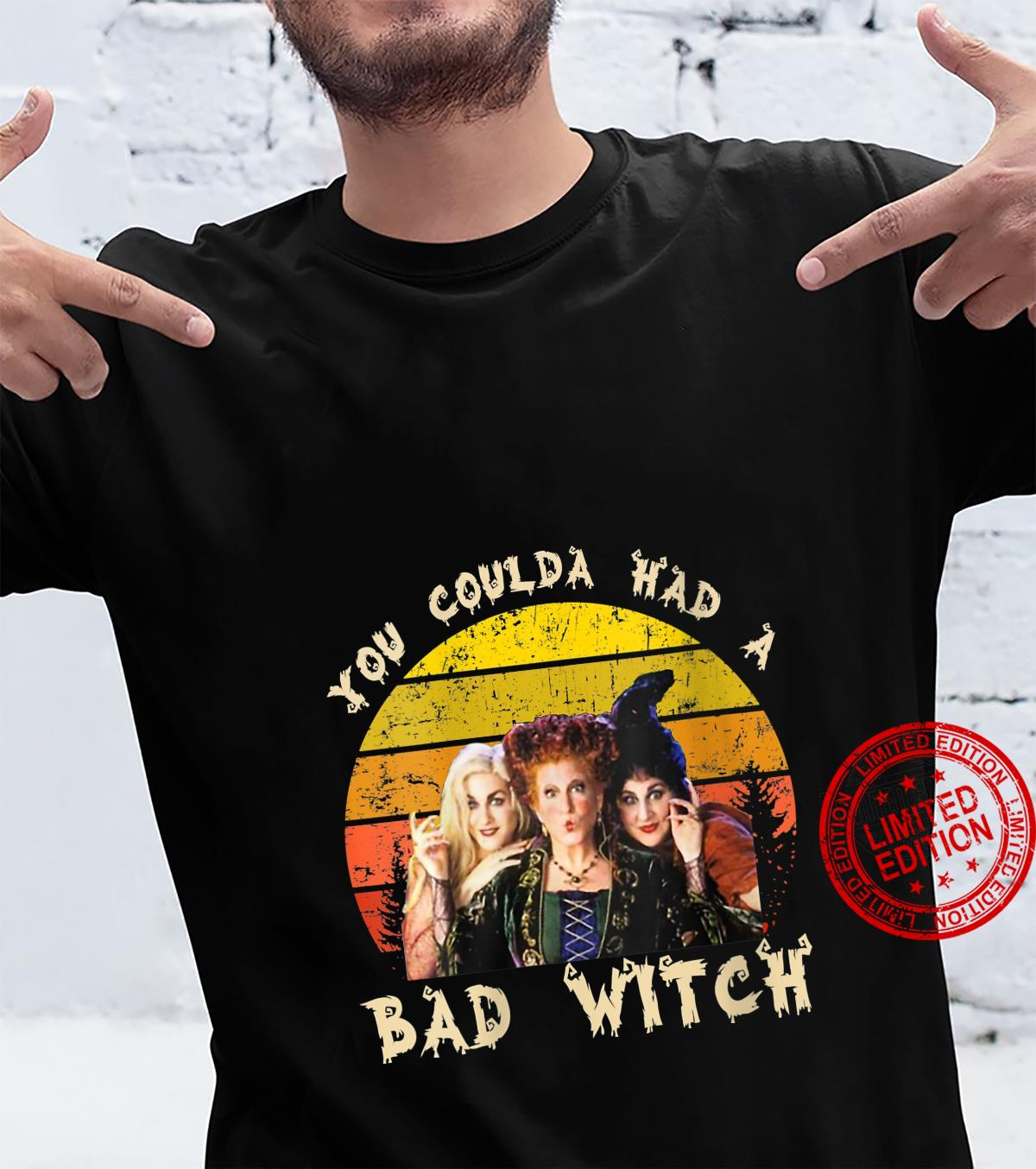 Vintage You Coulda Had a Bad Witch Halloween Shirt