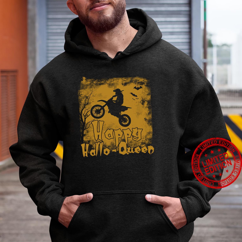 Women Motocross Happy Hallo-Queen Shirt hoodie