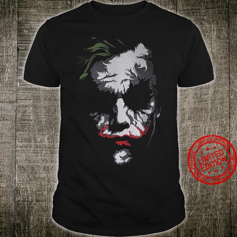 Madness As You Know Is Like Gravity All It Takes Is A Little Push The Joker Shirt unisex
