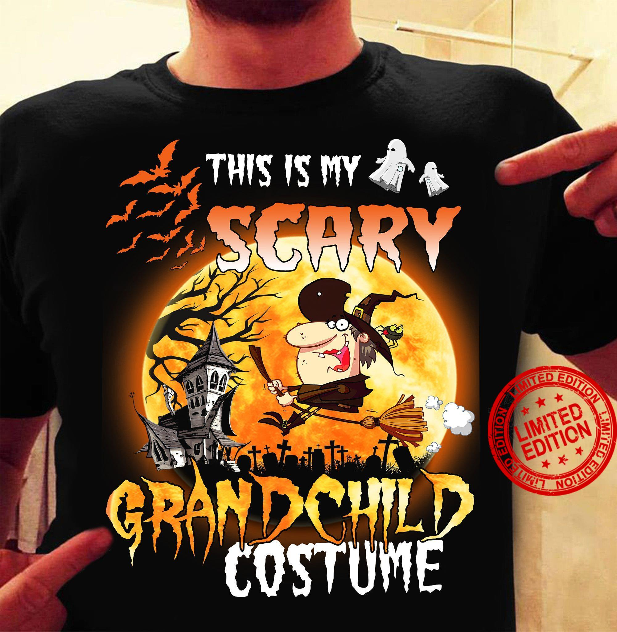 This Is My Scary Grandchild Costume Shirt
